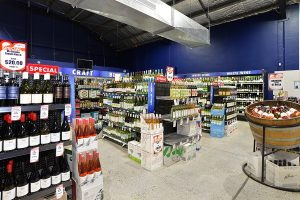 Affordable Alcohol at Quench liquor Barn
